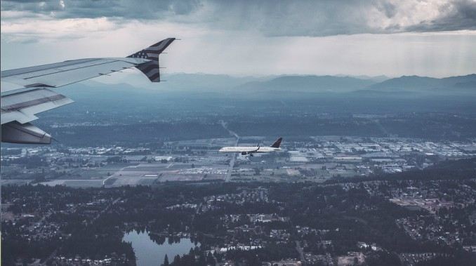 Avión en vuelo: el transporte más seguro